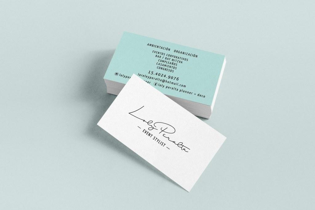 tarjeta personal de wedding planner en buenos aires argentina