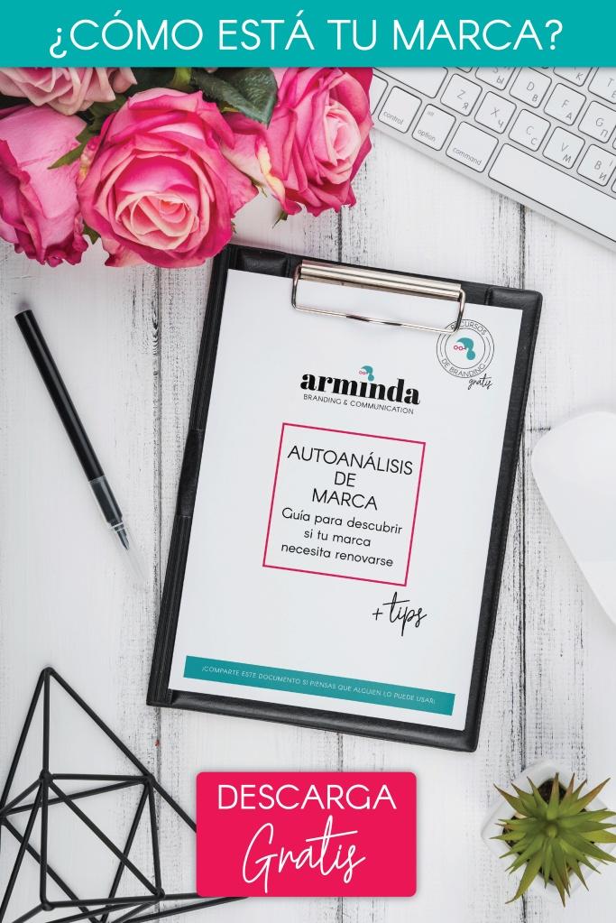 cuaderno de autoanalisis para autoanalizar una marca y hacer rebranding
